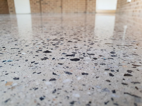 Polished Concrete - Semi Gloss Finish - GALAXY Concrete Polishing & Grinding