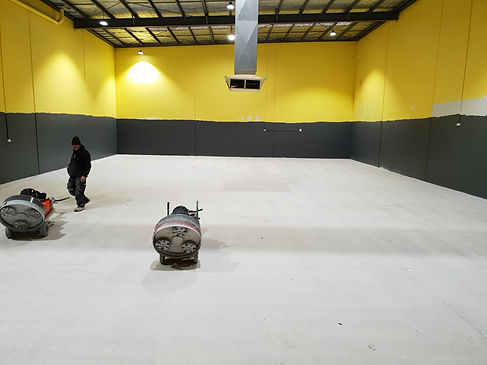Concrete Grinding - GALAXY Concrete Polishing & Grinding - Commercial floor Epping Melbourne