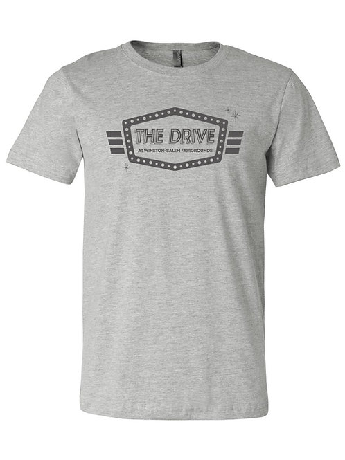 The Drive T-Shirt - Deep Heather Gray