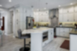 Kitchen remodel by remodeling contractor Compellin Homes