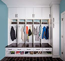 Mud room and custom lockers