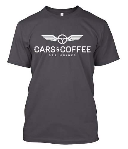 Cars & Coffee Des Moines T-Shirt