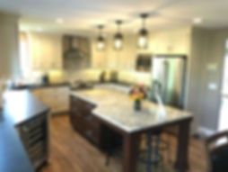 Fabulous kitchen remodel in Des Moines by the home remodeling experts Compelling Homes