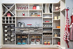custom kitchen pantry shelving and storage
