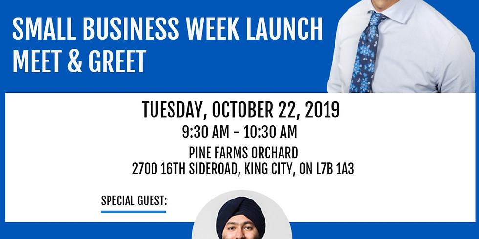 Small Business Week Launch Meet & Greet