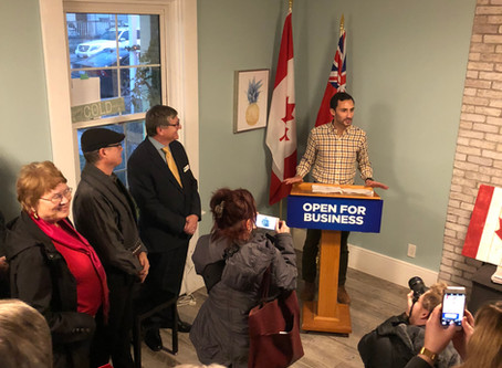 MPP LECCE SUPPORT JOBS & GROWTH IN KING