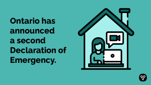 Ontario Declares Second Provincial Emergency to Address COVID-19 Crisis and Save Lives