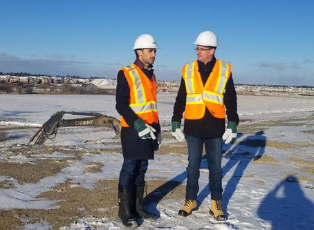 MINISTER OF INFRASTRUCTURE JOINS MPP LECCE TO REVIEW PROGRESS OF HIGHWAY 427 EXPANSION PROJECT