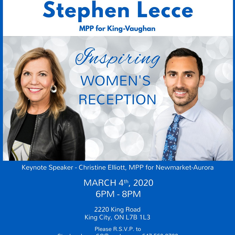 Inspiring Women's Reception