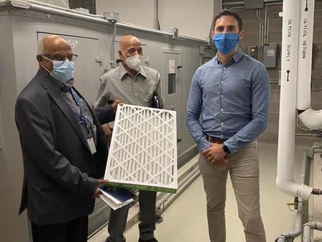 MPP Lecce Delivers Ventilation Improvements