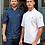 Thumbnail: Premium Zipped Chef's Jacket (Denim)