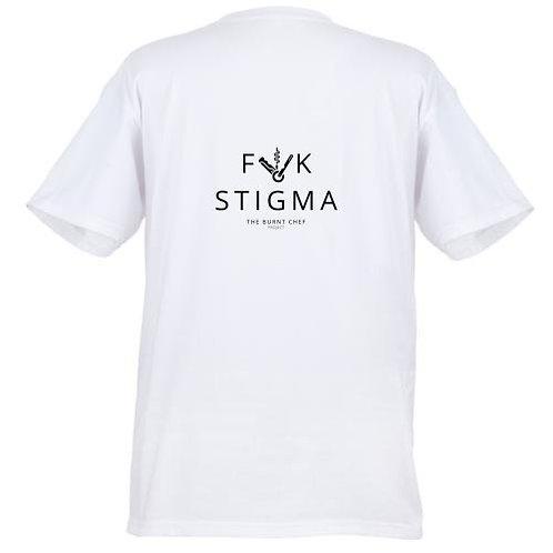F**k Stigma Tees FOH (White)