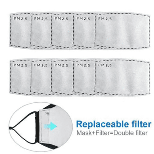 10 x PM2.5 Activated Carbon Replaceable Filters