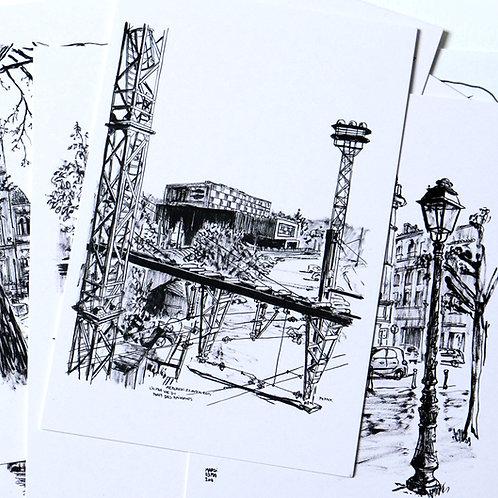 10 Cartes postales Angoulême