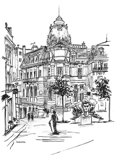 Rue Hergé à ANGOULEME