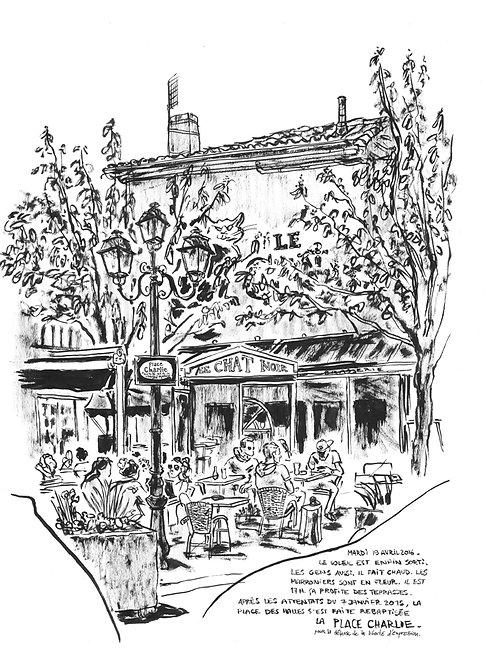 Place des Halles/ Place Charlie à ANGOULEME