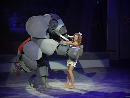 О премьере циркового шоу «Девочка и слон»