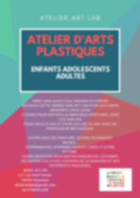Atelier art lab atelier d'arts plastique