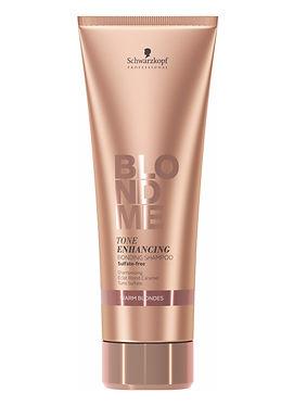 Schwarzkopf BM Tone Enhancing Bond Shampoo Warm Blondes