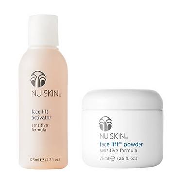 Nu Skin Heritage Face Lift Powder + Activator