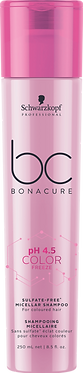 Schwarzkopf BC pH4.5 Color Freeze Sulfate Free Micellar Shampoo