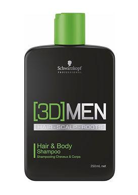 Schwarzkopf [3D]MEN Hair & Body Shampoo