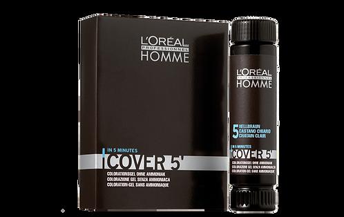 L'Oréal Homme Cover 5' Graukaschierung