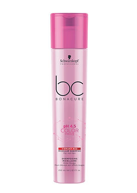 Schwarzkopf BC pH4.5 Color Freeze Vibrant Red Micellar Shampoo