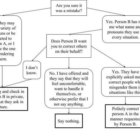 Misgendering Flowcharts
