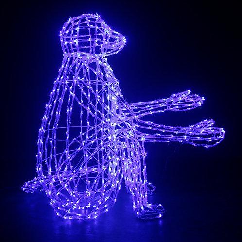 1m light string monkey type Sculpt Landscape Light
