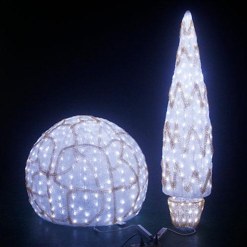 Epoxy ball Sculpt Landscape Light