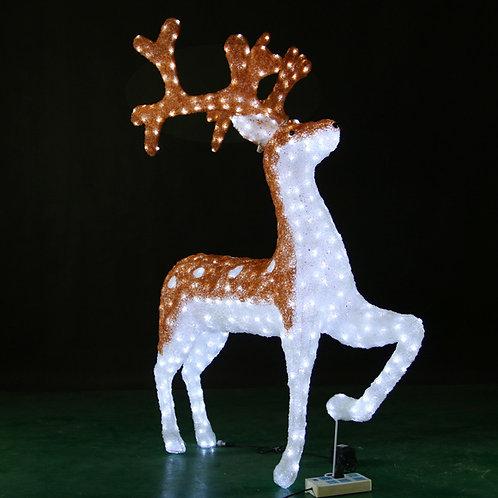 reindeer Sculpt Landscape Light