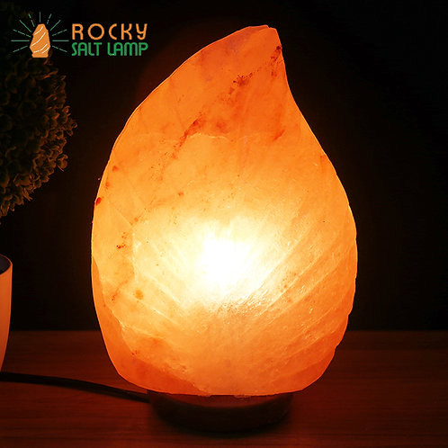 Leaf-like Himalaya Natural Salt Lamp