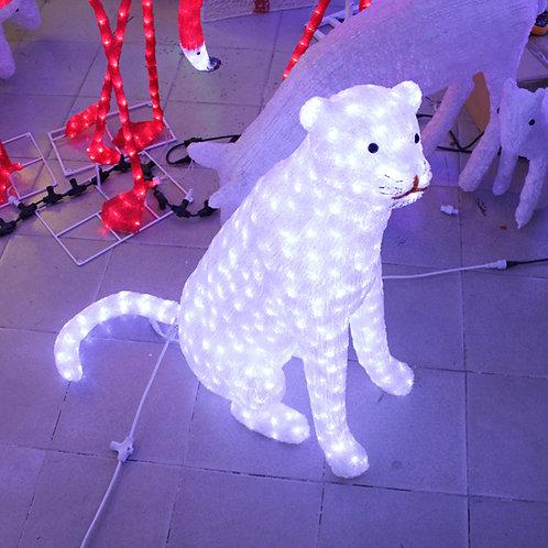 snow leopard Sculpt Landscape Light