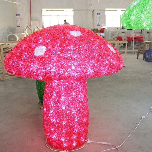 Mushroom  Sculpt Landscape Light