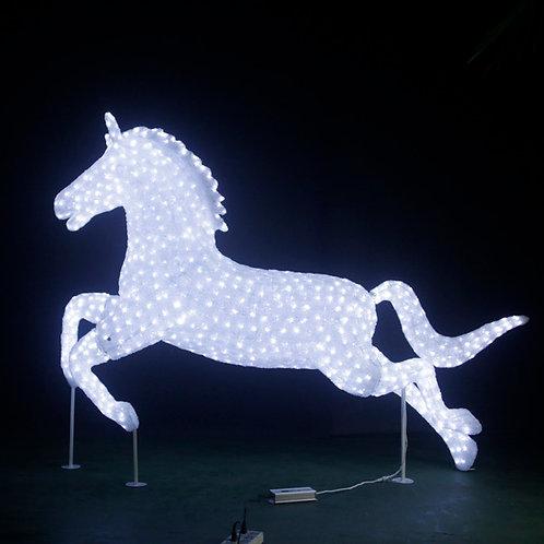 horse Sculpt Landscape Light