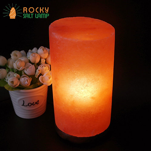 cylinder Himalaya Natural Salt Lamp