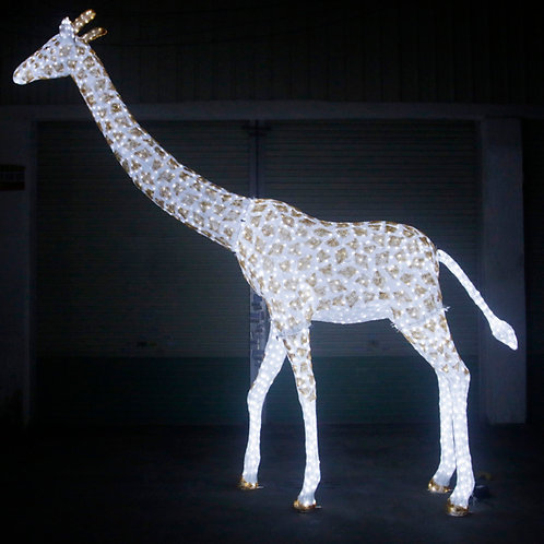 Epoxy Giraffe Sculpt Landscape Light