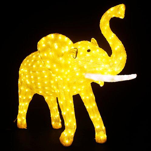 Elephant Sculpt Landscape Light