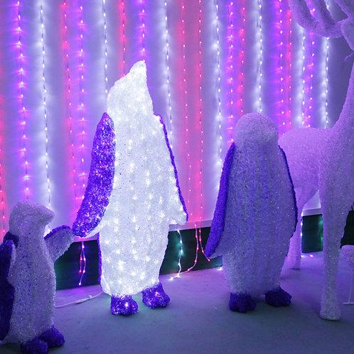 80 cm penguin shape Sculpt Landscape Light
