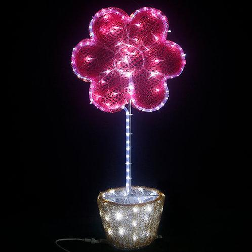 High 80CM wide 40CM sun flower bonsai modeling lamp