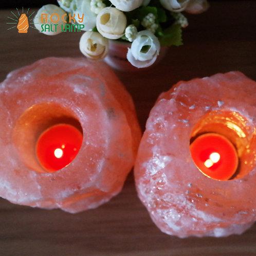 candle Himalaya Natural Salt Lamp