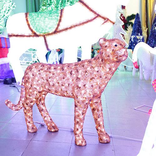 Leopard shape Sculpt Landscape Light