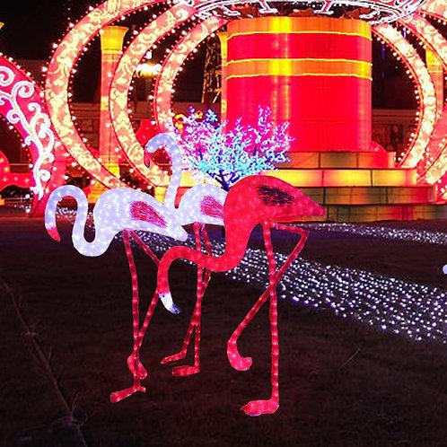Flamingo  Sculpt Landscape Light