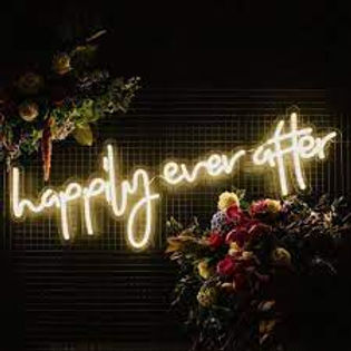 Happily Ever After Neon Sign – $85.00 .j