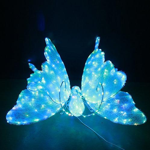 Color changing butterfly Sculpt Landscape Light