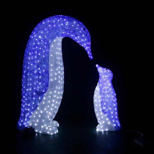 Mother Penguin Sculpt Landscape Light