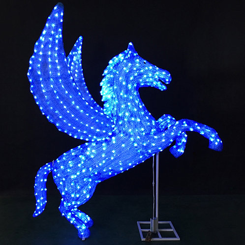 Blue Pegasus Sculpt Landscape Light