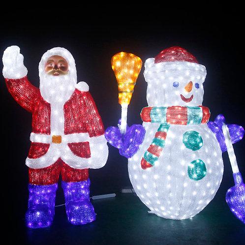 Christmas Sculpt Landscape Light
