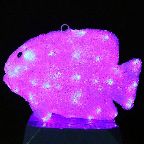 Color-changing fish Sculpt Landscape Light